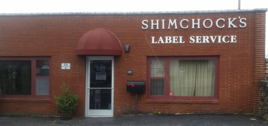 Shimchocks Label Service Building